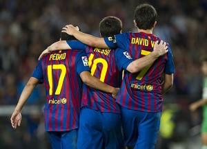 Celebración de un gol del Barça - Foto FCB oficial
