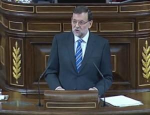 Debate Ley Orgánica de Abdicación de SM el Rey  Rajoy-en-el-Congreso-Foto-Zoomin-300x230