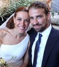 Raquel Sánchez Silva y su marido, Mario Biondo (Foto: Cuatro.com)