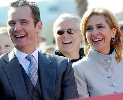 Urgandarin y la infanta Cristina - Foto Casareal.es