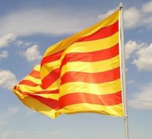 Bandera senyera catalana (Foto: ERC)