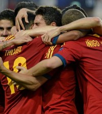La Rojita sub-21 celebra un gol (Foto: Sefutbol)
