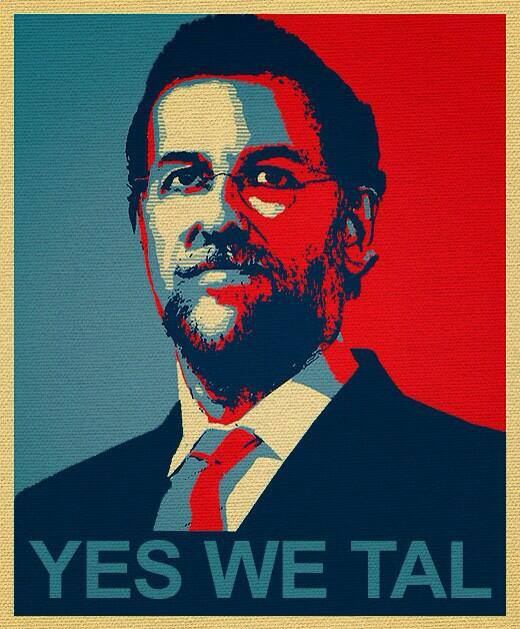 Rajoy Yes we tal