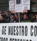 Manifestación frente a El Corte Inglés (Foto: UGT)