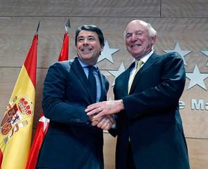 Ignacio González y Eurovegas (Foto Madrid org)