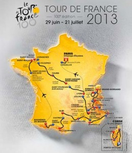 Tour etapas 2013