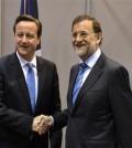David Cameron y Mariano Rajoy (Foto La Moncloa)