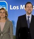 Rajoy y Cospedal (Foto web PP)