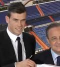 Bale y Florentino Pérez