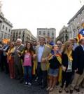 Cadena humana en la Diada Cataluña 2013 (Foto Generalitat)
