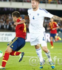 España-Finlandia (Foto: Sefutbol.com)