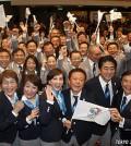 Foto de la triunfadora Tokio 2020 (Foto tokyo2020.jp)
