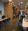 Funcionarios en sus oficinas (Foto Ministerio de Administraciones Públicas)