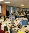 Funcionarios en sus oficinas (Foto: Ministerio de Administraciones Públicas)