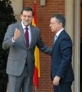 Iñigo Urkullu con Mariano Rajoy en Moncloa (Foto Moncloa)