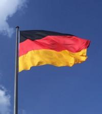 Foto de la bandera alemana (Foto Wikipedia)
