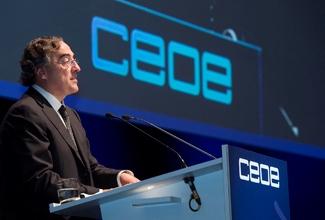 Juan Rosell (Foto CEOE)