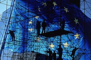 Bandera de Europa (Foto portal oficial de la Unión Europea)