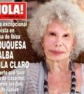 Duquesa de Alba (Foto revista Hola)