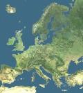 Mapa de Europa (Foto portal oficial de la Unión Europea)