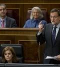 Rajoy, en el Congreso (Foto Moncloa)