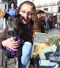 Delfina y su adoptante Elena son el mes de abril de 2014