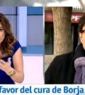 Mariló Montero y el cura de Borja