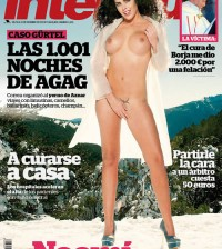 Noemi Merino en la portada de Interviú