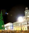 Puerta del Sol de Madrid en Navidad (Foto: TurismoMadrid)