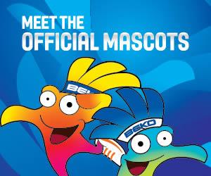 Mascotas Mundial Baloncesto 2014