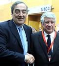 Arturo Fernández, con Juan Rosell (Foto: CEIM)