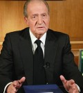 El Rey don Juan Carlos, desde su despacho (Foto: Casa Real)