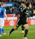 Pedro celebra su gol (Foto: Sefutbol)