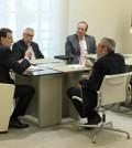 Rajoy, reunido con patronal y sindicatos (Foto: Moncloa)