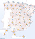 El tiempo en España (Fuente: Aemet)