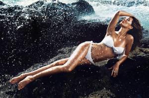 Gisele Bündchen anuncio H&M (Foto: página oficial H&M)