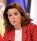 Soraya Sáenz de Santamaría (Foto web La Moncloa)