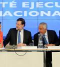 Comité del PP con Rajoy y Cospedal (Foto PP)