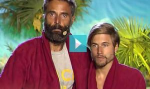 Rafa Lomana y Abraham finalistas Supervivientes 2014 (Foto Telecinco)
