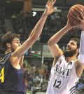 Tomic contra Mirotic en un Barça-Madrid (Liga ACB)