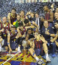 El Barça de baloncesto, campeón de la ACB (Foto ACB)