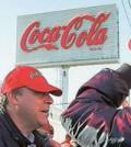 Protestas contra ERE de Coca Cola (Foto UGT)