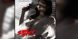 cartel de 'Sin City 2' con Eva Green
