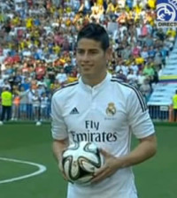 James Rodriguez (Captura de RM TV)