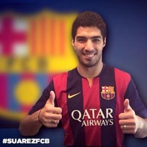 Luis Suárez (Foto FCB)