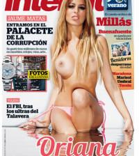 Oriana desnuda en Interviu tetas operadas