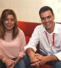 Susana Díaz y Pedro Sánchez (Foto Flickr PSOE)