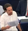 pablo iglesias europarlamento