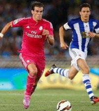 Bale (Foto Facebook oficial Real Madrid)