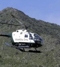 Foto de archivo de un helicóptero de la Guardia Civil